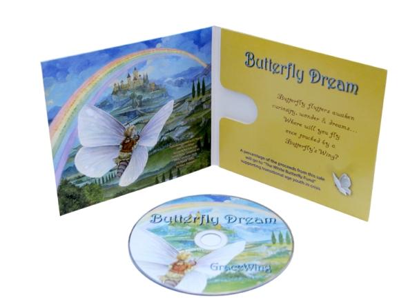butterfly dream CD inside packaging web