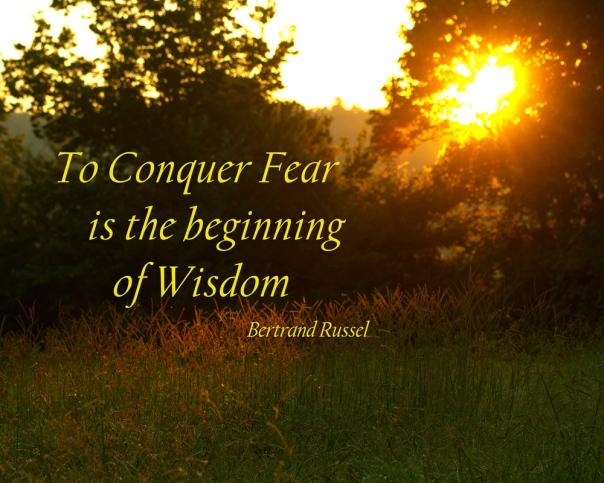 conquer fear