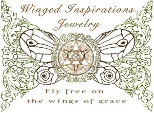 Butterfly Double Sided Pendant