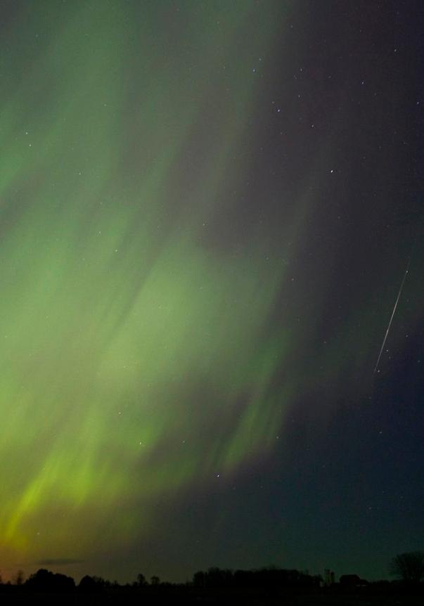 Aurora Shooting Star