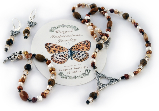 leopard jewelry set2