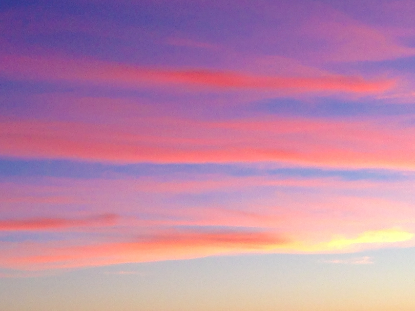 pastel sunset clouds cropped
