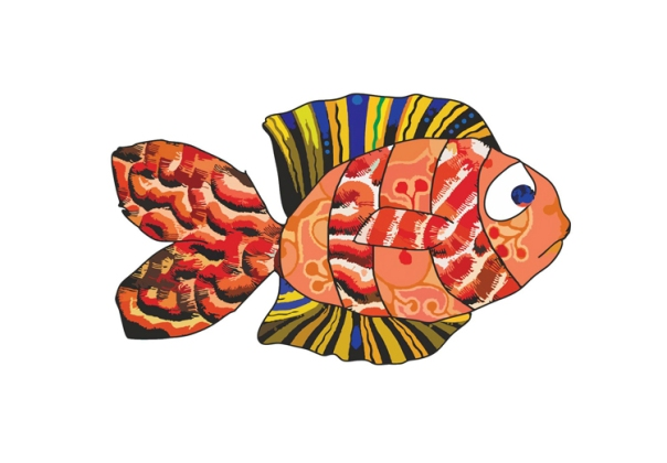 Nemo Dreams Fish Print